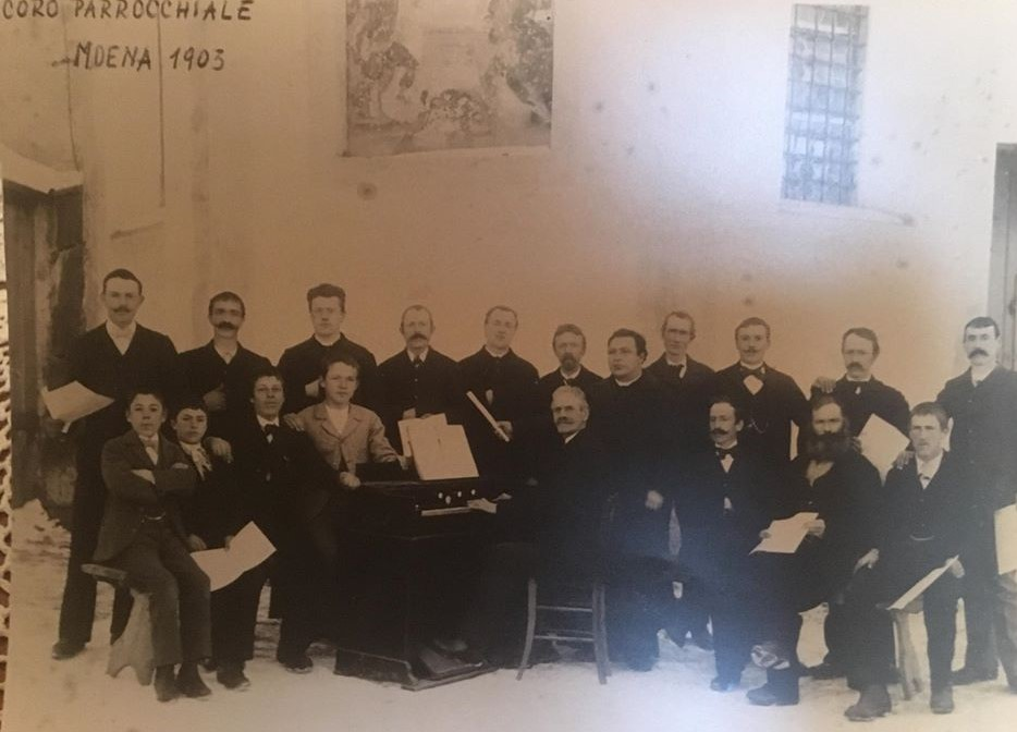 1903 Coro parrocchiale di Moena